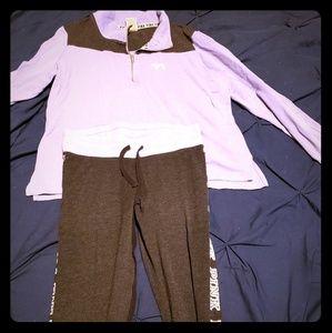 Victoria secret track outfit large